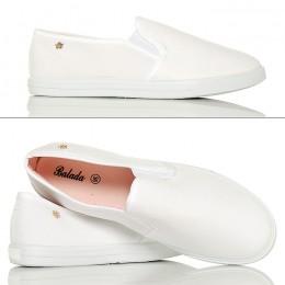Rewelacyjne Lekkie Białe Slipony