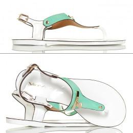 Sandały Japonki Meliski Miętowe